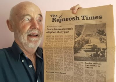 First issue of The Rajneesh Times, Sept 1982
