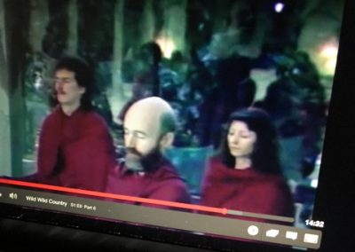 Meditating in Pune, 1992 (from Wild Wild Country)