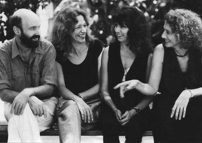 With friends in Pune, 1989