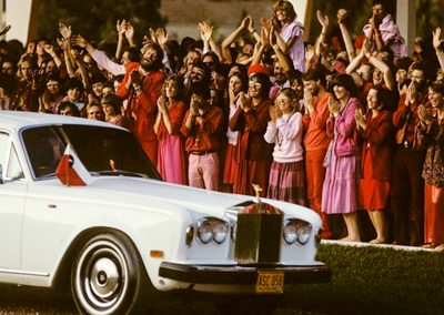 The armour-plated Rolls Royce, Oregon, July 1982
