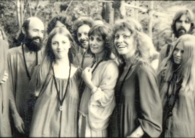 With friends at the asham, Pune, circa 1978