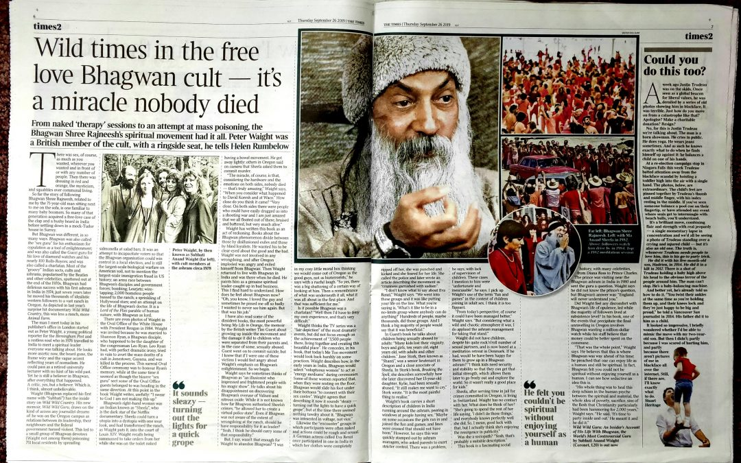 TWO-PAGE REVIEW OF MY BOOK IN THE TIMES